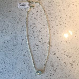 Kendra Scott Elisa Necklace Light Blue Illusion